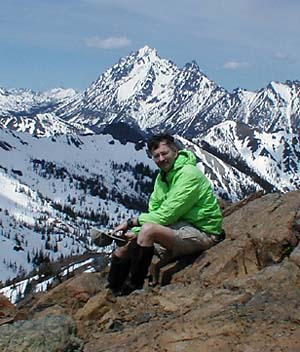 Jim On Earl Peak