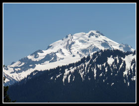Glacier Peak From The Green Mountain Trail